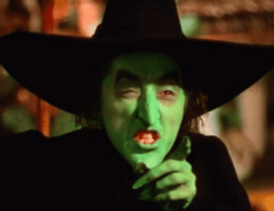 Wicked Witch Scowl